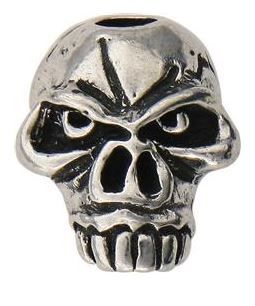Schmuckatelli Co. Emerson Jumbo Skull Bead Pewter