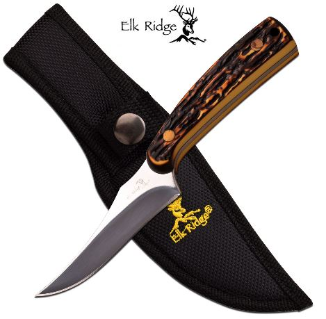 Elk Ridge ER299i Fixed Blade w/ Nylon Sheath (Online Only)