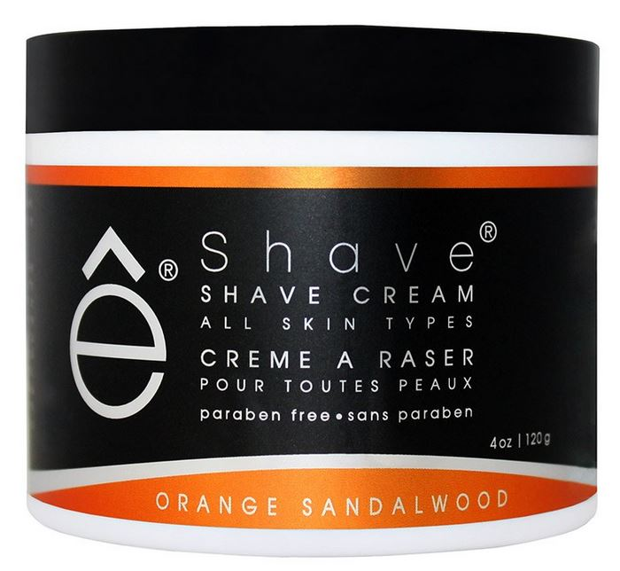 eShave Shaving Cream - Orange/Sandalwood