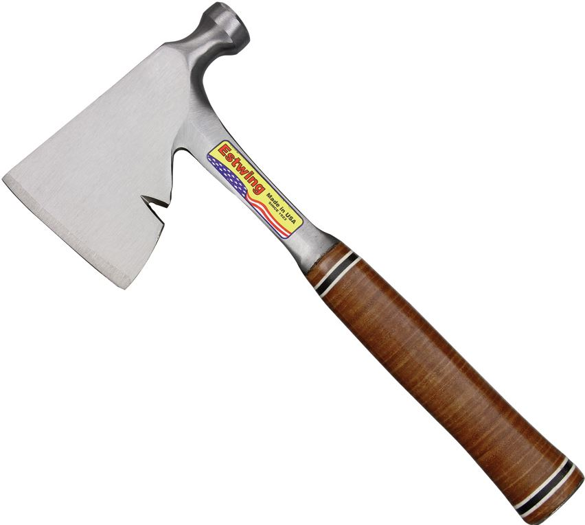 Estwing E2H Carpenter's Hatchet - Leather Handle