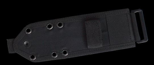 ESEE 3/4 Codura MOLLE Back- Black (Online Only)