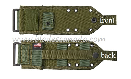 ESEE 3/4 Cordura MOLLE Back - OD Green