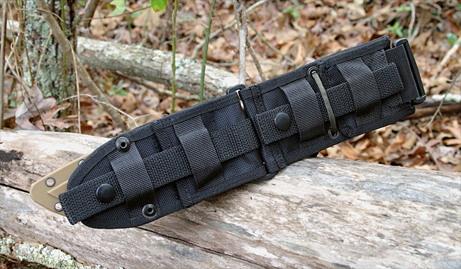 ESEE 5/6 MOLLE Back - Black