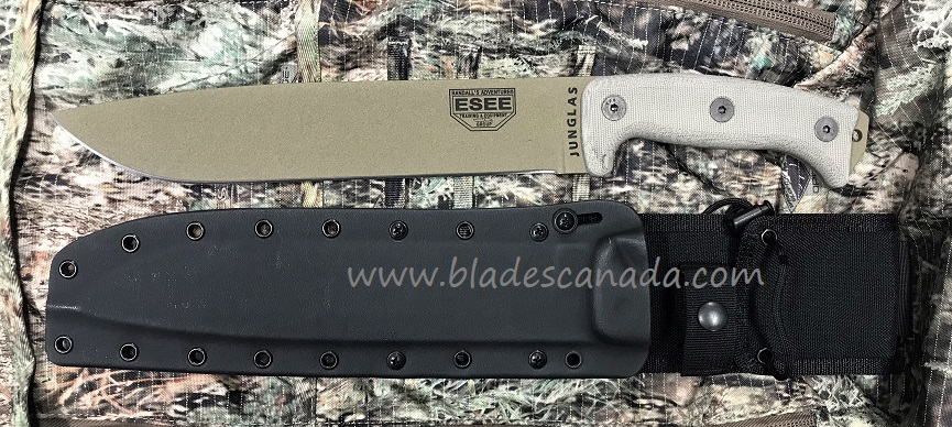 ESEE Junglas Dark Earth - Micarta Handle