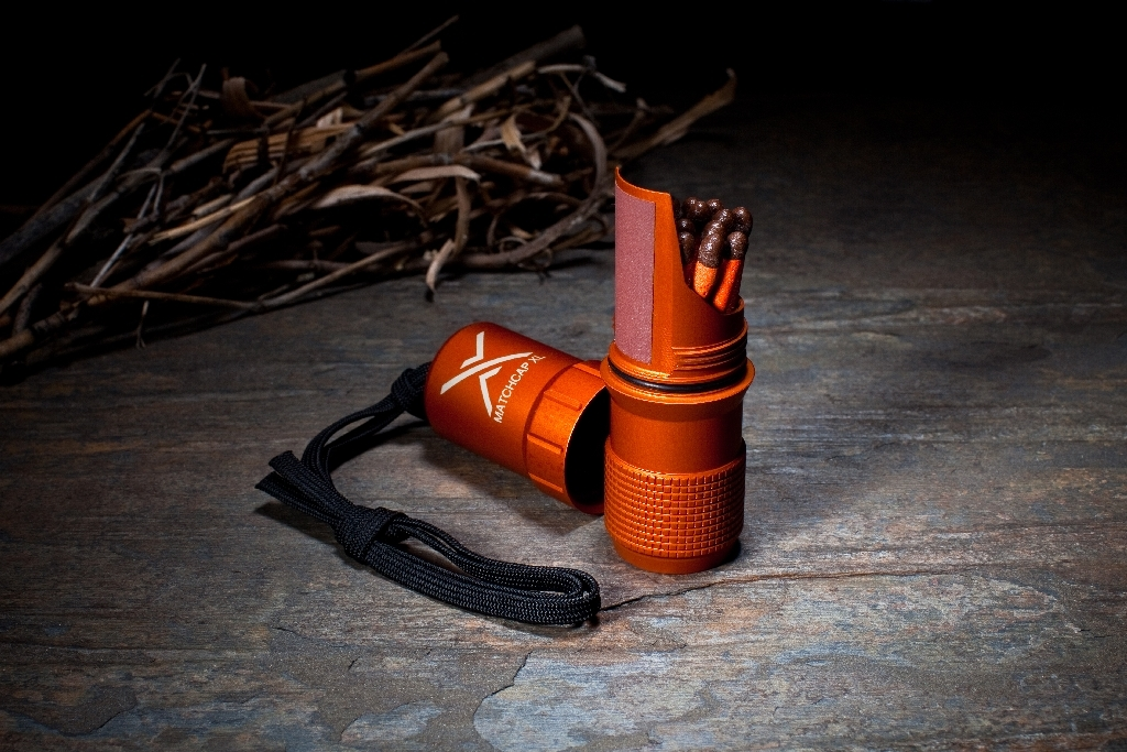 Exotac MatchCap XL - Blaze Orange