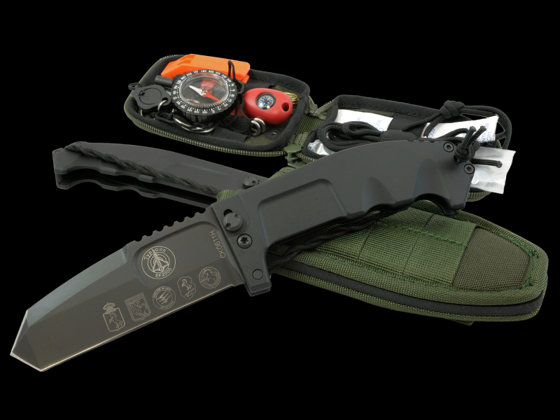 Extrema Ratio 130RAOAVIO Rao Avio Folder w/Survival Kit
