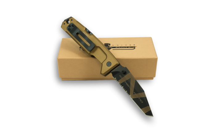Extrema Ratio FULCRUM II Folder Tanto - Desert Warfare