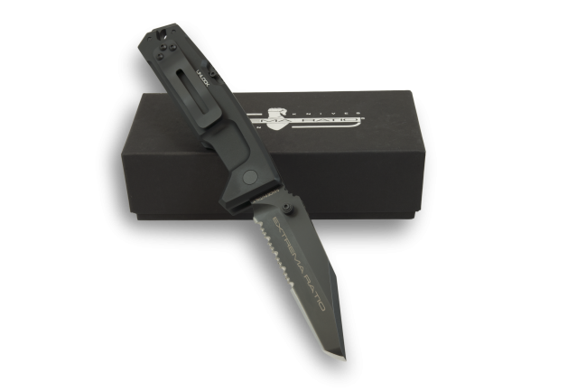 Extrema Ratio FULCRUM II Folder Tanto - Black