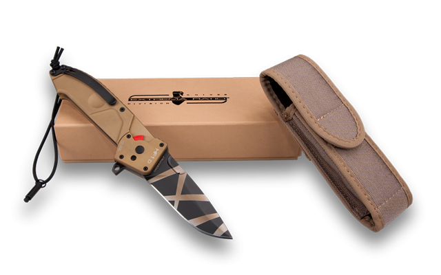 Extrema Ratio HF1DW Drop Point Folder - Desert Warfare
