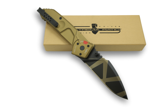 Extrema Ratio MF1 Folder Drop Point - Desert Warfare