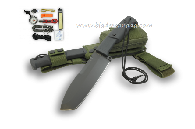 Extrema Ratio SELVANS GREEN Survival Knife w/ Kit