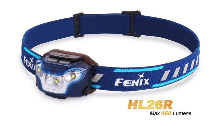 Fenix HL26R Lightweight Rechargeable Headlamp - Blue