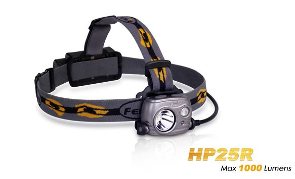 Fenix HP25R Rechargeable Headlamp -1000 Lumens