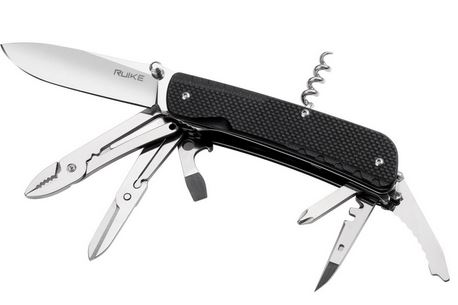 Ruike LD41-B Trekker Multi-Tool with Locking Blade