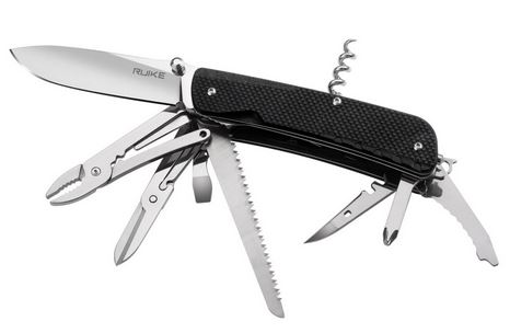 Ruike LD51-B Trekker Multi-Tool with Locking Blade