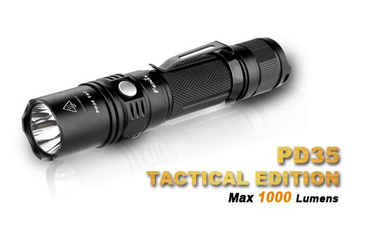 Fenix PD35 Tactical Edition - 1000 Lumens