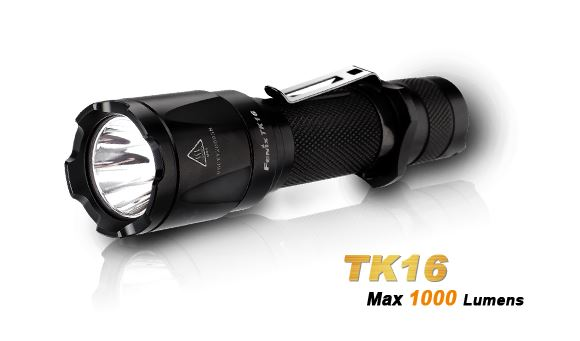 Fenix TK16 Flashlight - 1000 Lumens
