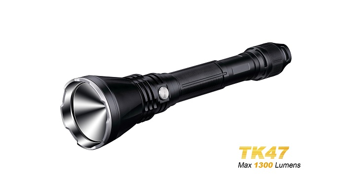 Fenix TK47 Long-Range Flashlight - 1300 Lumens