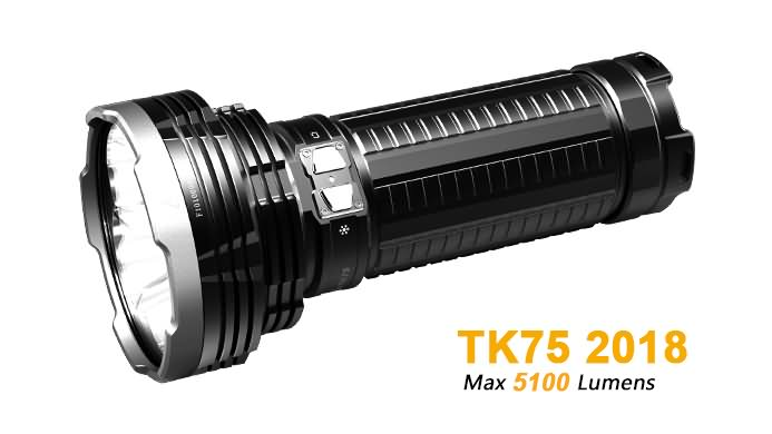Fenix TK75 Flashlight 2018 Edition - 5100 Lumens
