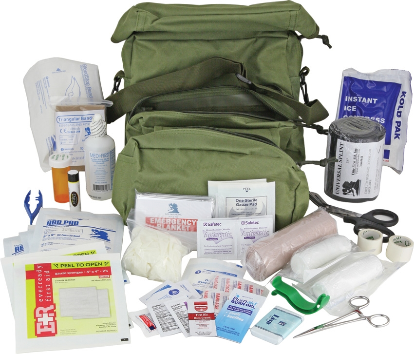 Elite First Aid FA108 M3 Medic Bag - OD