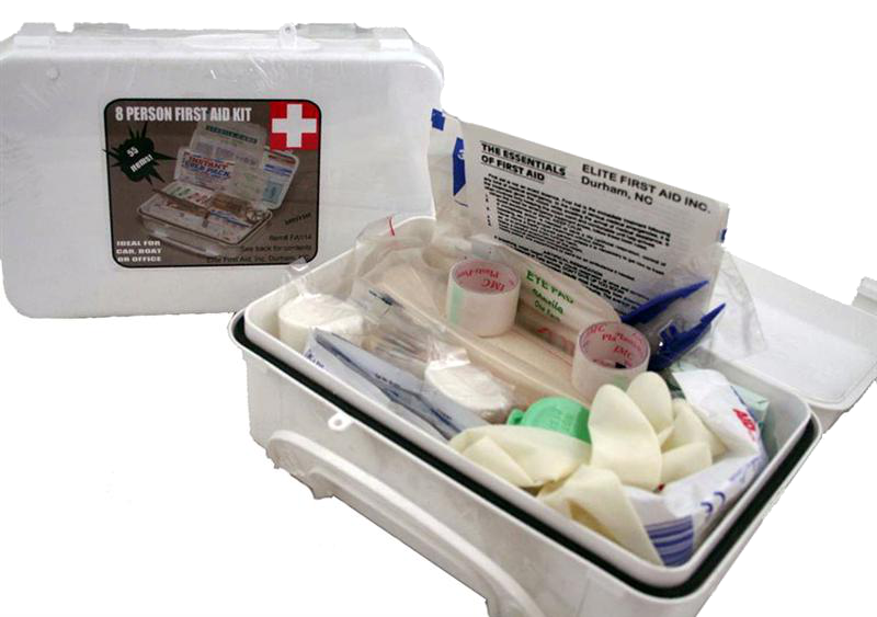 Elite First Aid FA114 White Series Kit8 Unit