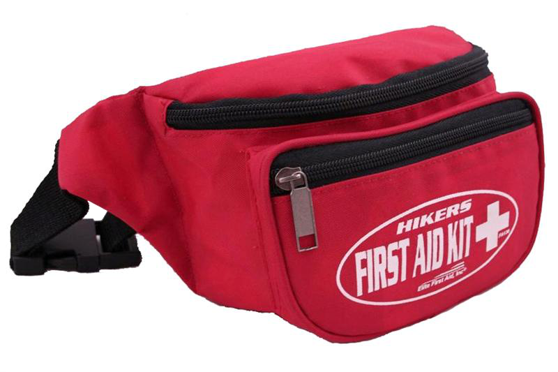 Elite First Aid FA130 Hiker's First Aid Kit - Red