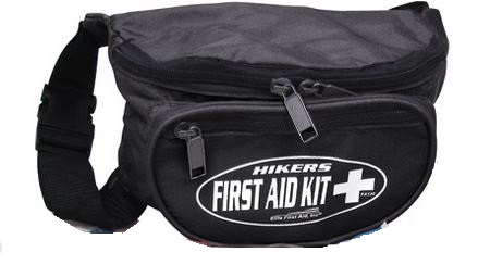 Elite First Aid FA130B Hiker's First Aid Kit - Black [Clearance]