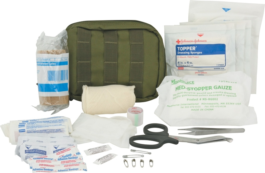 Elite First Aid FA142 Tactical Trauma Kit #1 - OD