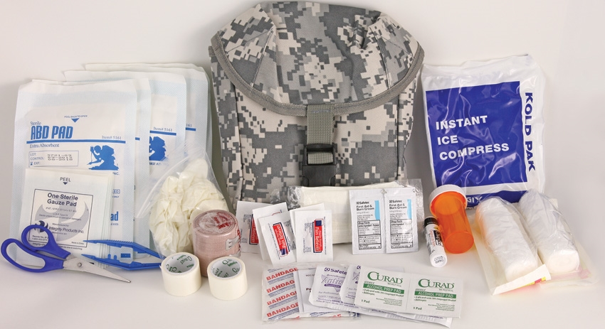 Elite First Aid FA181 New Platoon First Aid Kit - ACU [SALE-Exp]