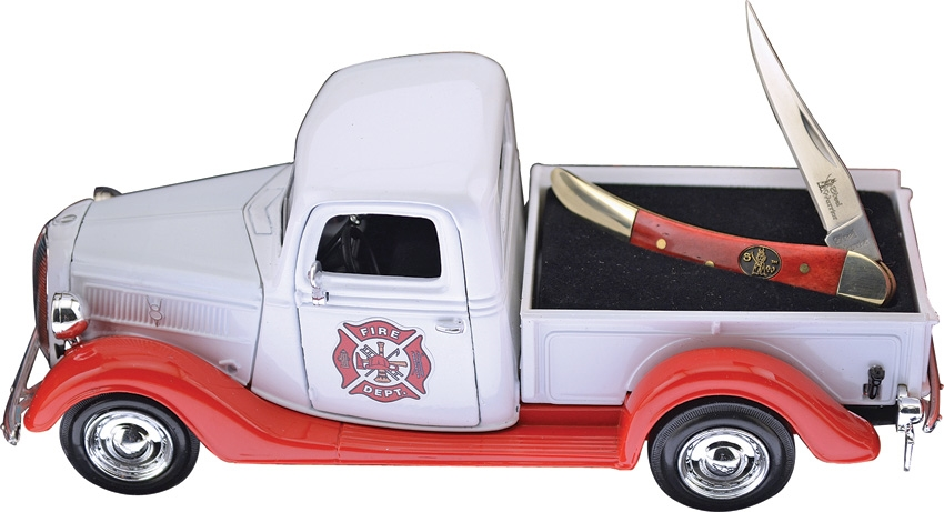 Frost Cutlery 1937 Ford Fire Truck with Folder (Online Only)