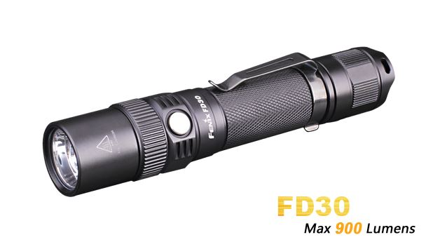 Fenix FD30 Adjustable Focus FLashlight - 900 Lumens