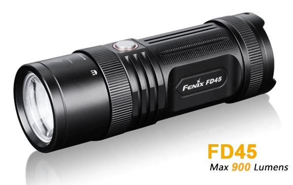 Fenix FD45 Adjustable Focus Flashlight - 900 Lumens