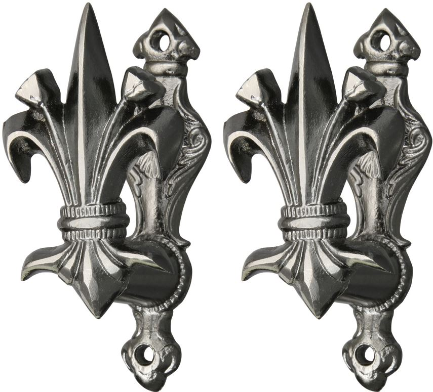 Fleur De Lis Sword & Weapon Holder (Set of 2)