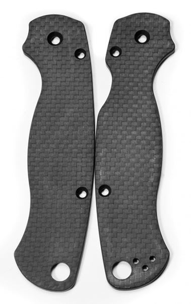 Flytanium Co. Carbon Fiber Scales for Spyderco Para-Military 2