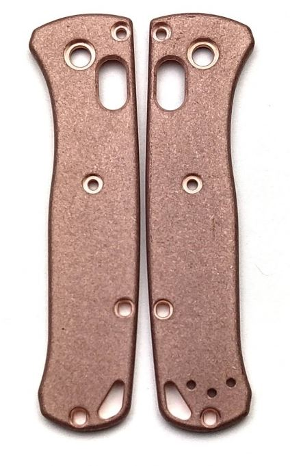 Flytanium Benchmade Bugout Mini Scales - Copper