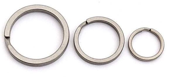 Flytanium Titanium Split Ring Set of 3 FLY378