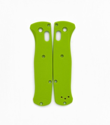 Flytanium Benchmade Bugout G-10 Scale - Lime Green
