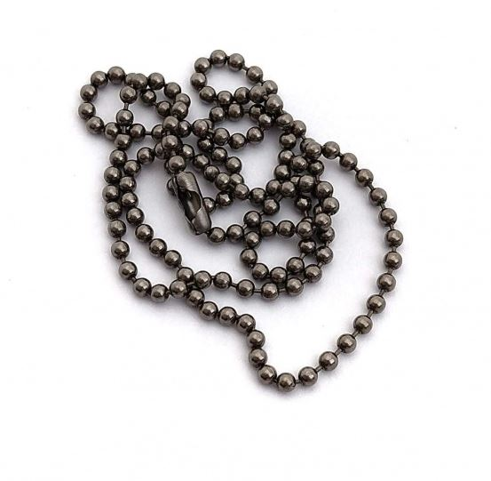Flytanium Titanium Ball Chain Necklace - Large FLY382