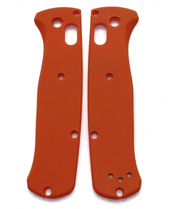 Flytanium Benchmade Bugout G-10 Scale Orange FLY444