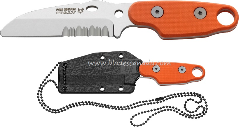 Fox Italy FX-303OR Compso Neck Knife