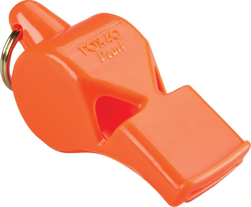Fox 40 19102 Pearl Safety Whistle - Orange