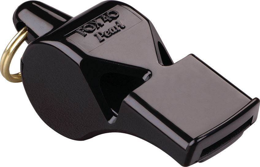 Fox 40 29080 Pearl Safety Whistle - Black