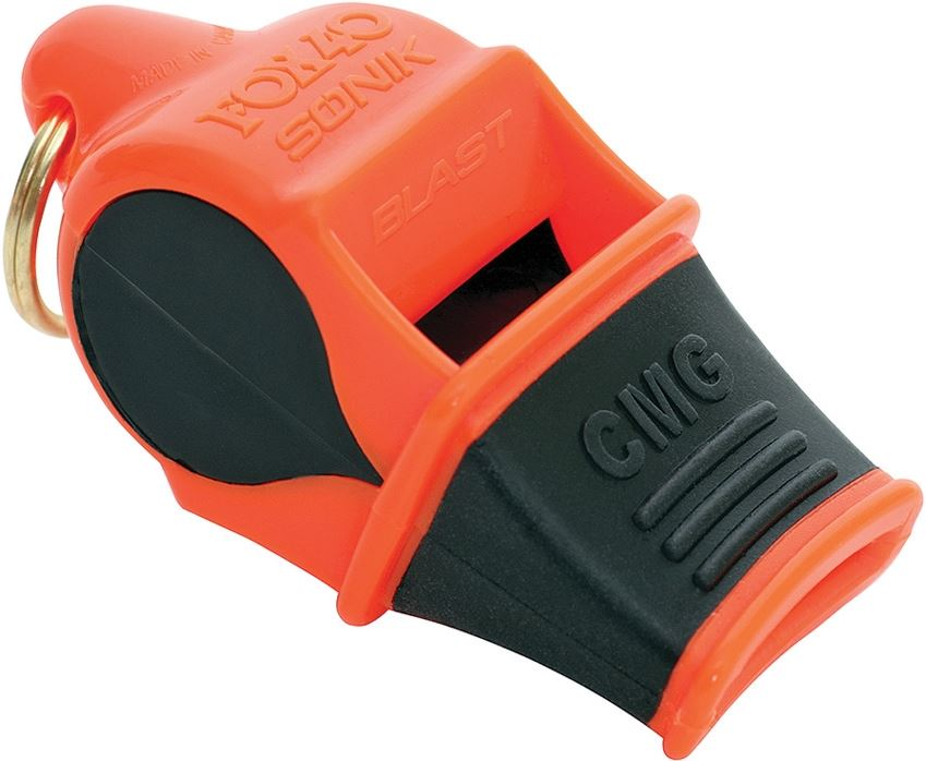 Fox 40 3308 Sonik Blast CMG Whistle - Orange