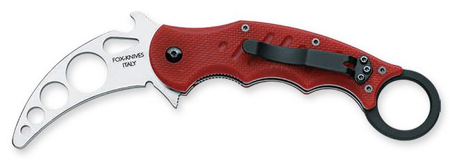 Fox Italy 479TK Folding Karambit Trainer