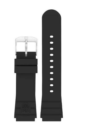 Luminox FP3000.21Q.2.K Watch Strap NBR Black - 22mm