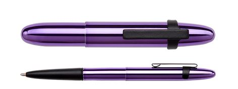Fisher Space Pen Bullet Purple Passion w/ Black Clip