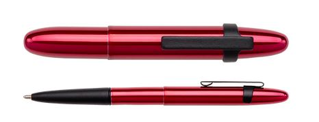 Fisher Space Pen Bullet Red Cherry w/ Black Clip
