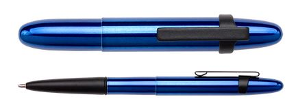 Fisher Space Pen Bullet Blueberry w/ Black Clip