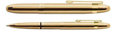 Fisher Space Pen Bullet 400GGCL Gold