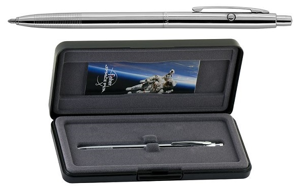 Fisher Space Pen Astronaut Chrome Plated Shuttle Pen
